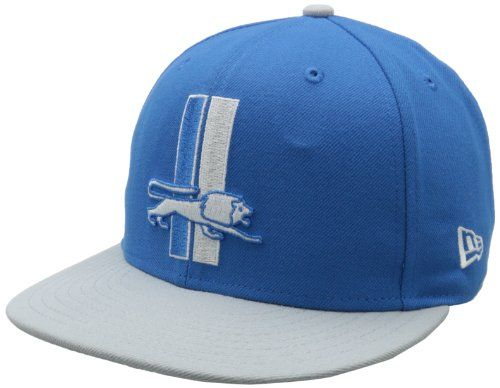5776f7f1b NFL Detroit Lions Historic Logo 59Fifty Fitted Cap BlueSilver 7 18    Click  image to review more details.