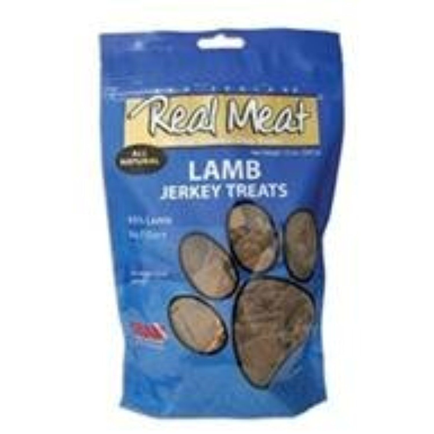 Canz Dog Jerky Trt Lmb 12Oz by The Real Meat Co You