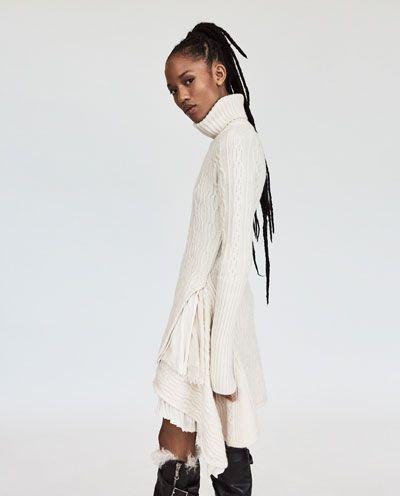 Imagen 6 Zara De Vestido Cashmere Combinado 8nw0OPkX