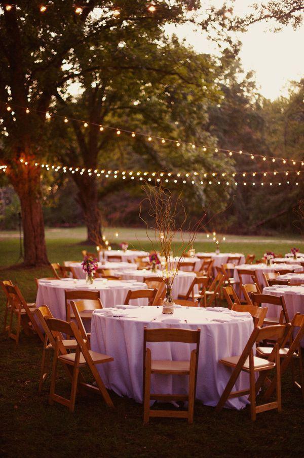 Casual Wedding Decor Receptions Country Outdoor Weddings