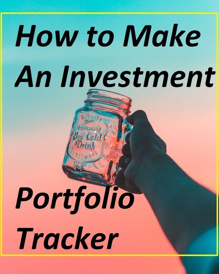 How to make an investment portfolio tracker using Google Spreadsheet - google spreadsheet budget