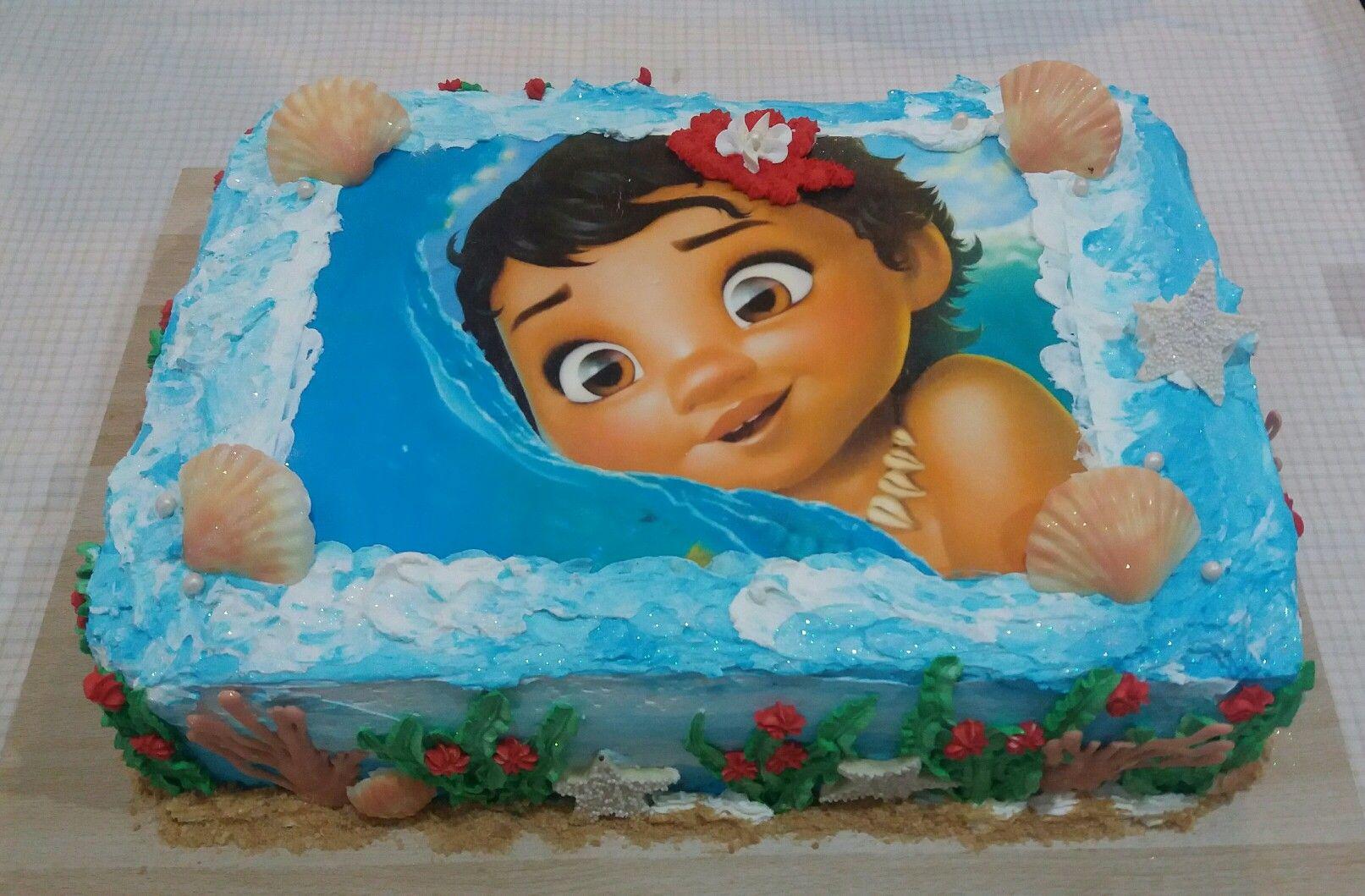 Bolo Moana Baby Feito Por Lilia Ap Carlos Oliveira Com Imagens