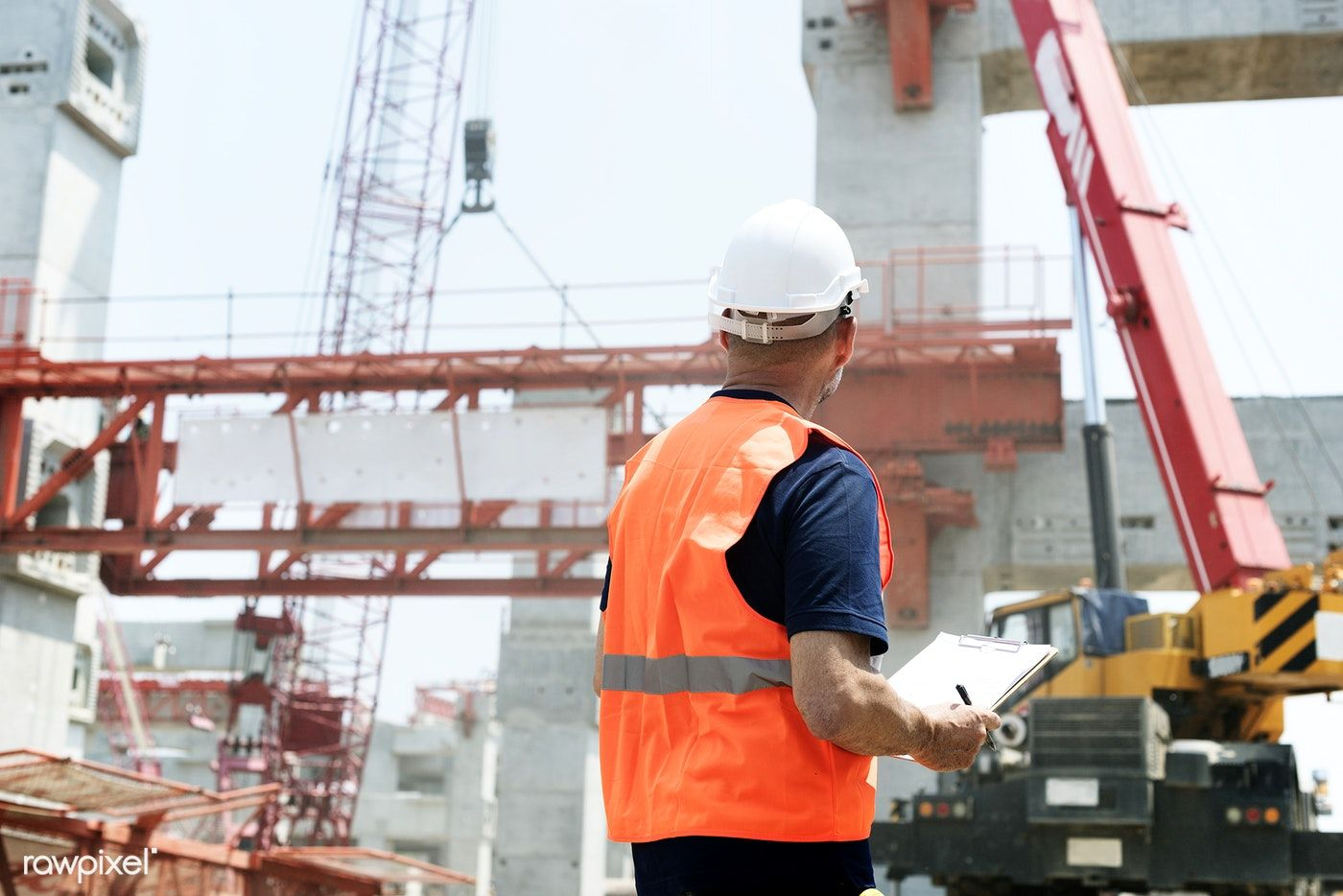 Download Premium Photo Of Site Engineer On A Construction Site