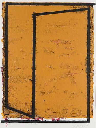 Paul Osipow: Reuter, 1985, serigrafia, 67x49 cm, edition XXV - Bukowskis Market 2016
