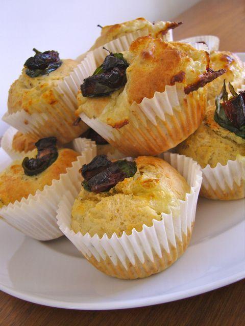 Domestic Sluttery: Baking for beginners: Mozzarella and Oregano Savoury Muffins