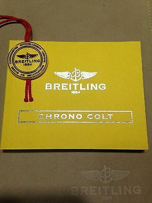 manuals and guides 93720 new breitling chrono colt instruction rh pinterest co uk Breitling Colt Skyracer Breitling Colt Quartz