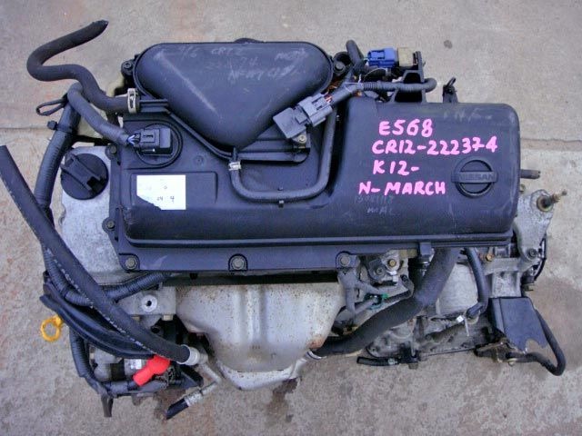 Engine Code CR12 Fits In Nissan MarchYear Range Mar 2002 To