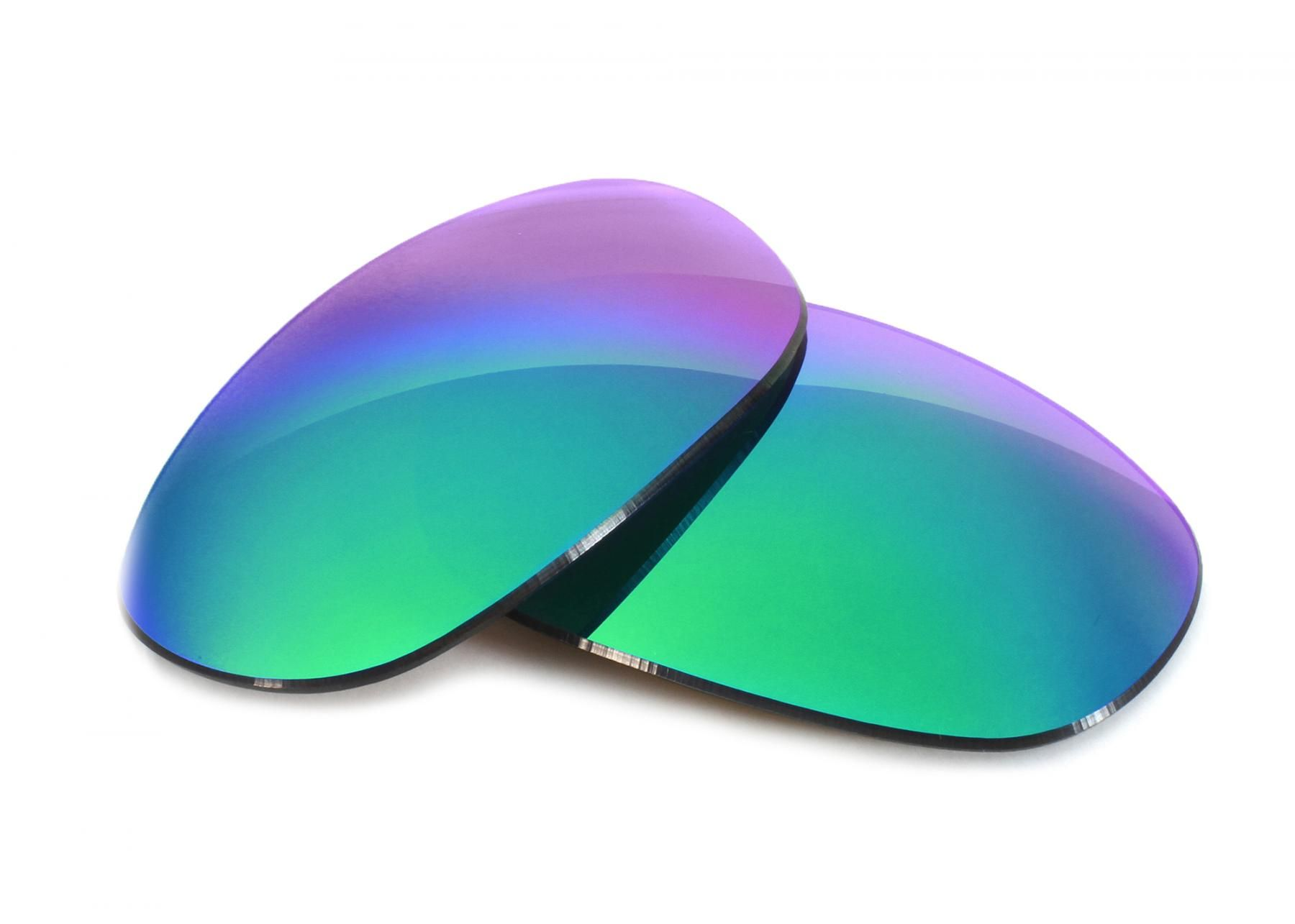 53bfb2ee0491c Oakley Grapevine Grey Lens with Green Mirror Replacement Lenses ...