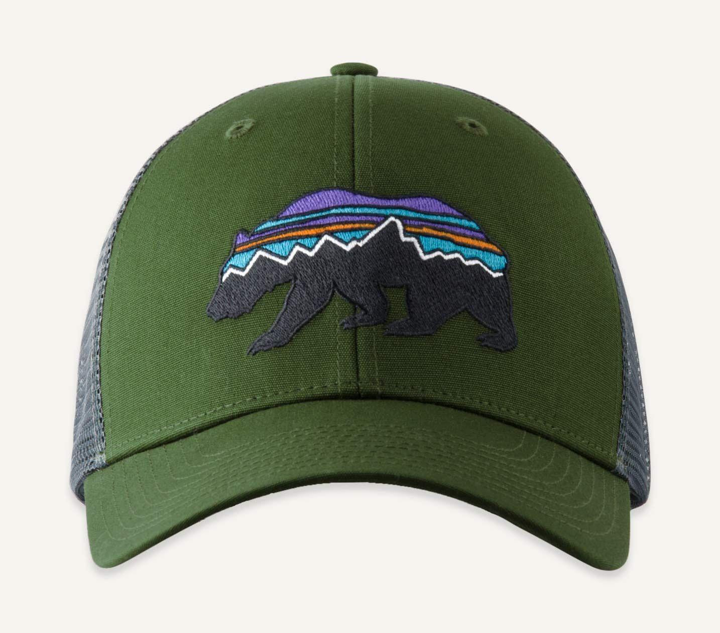 buy popular c8fda 257e6  Fitz Roy  Bear Trucker Hat.