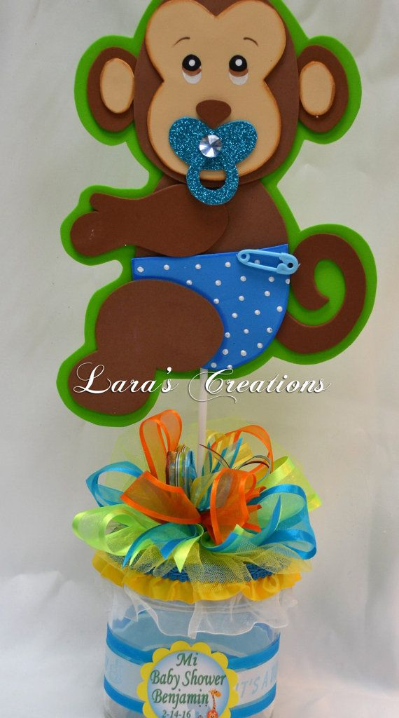 Jungle Safari Party Centerpiece. Baby Shower By