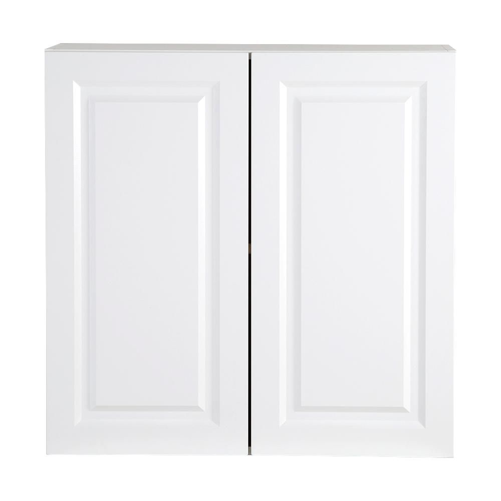 Best Hampton Bay Benton Assembled 30X30X12 In Wall Cabinet In 640 x 480