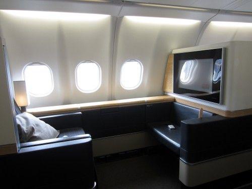Swiss First Class Seat 2A On The A330 300 Zurich