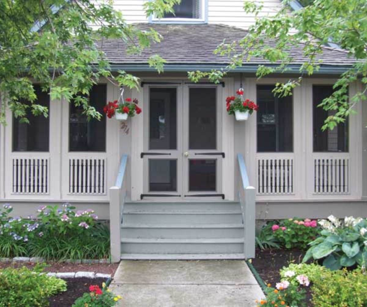 New Porches For Old Houses Porch Design Screened Front Porches