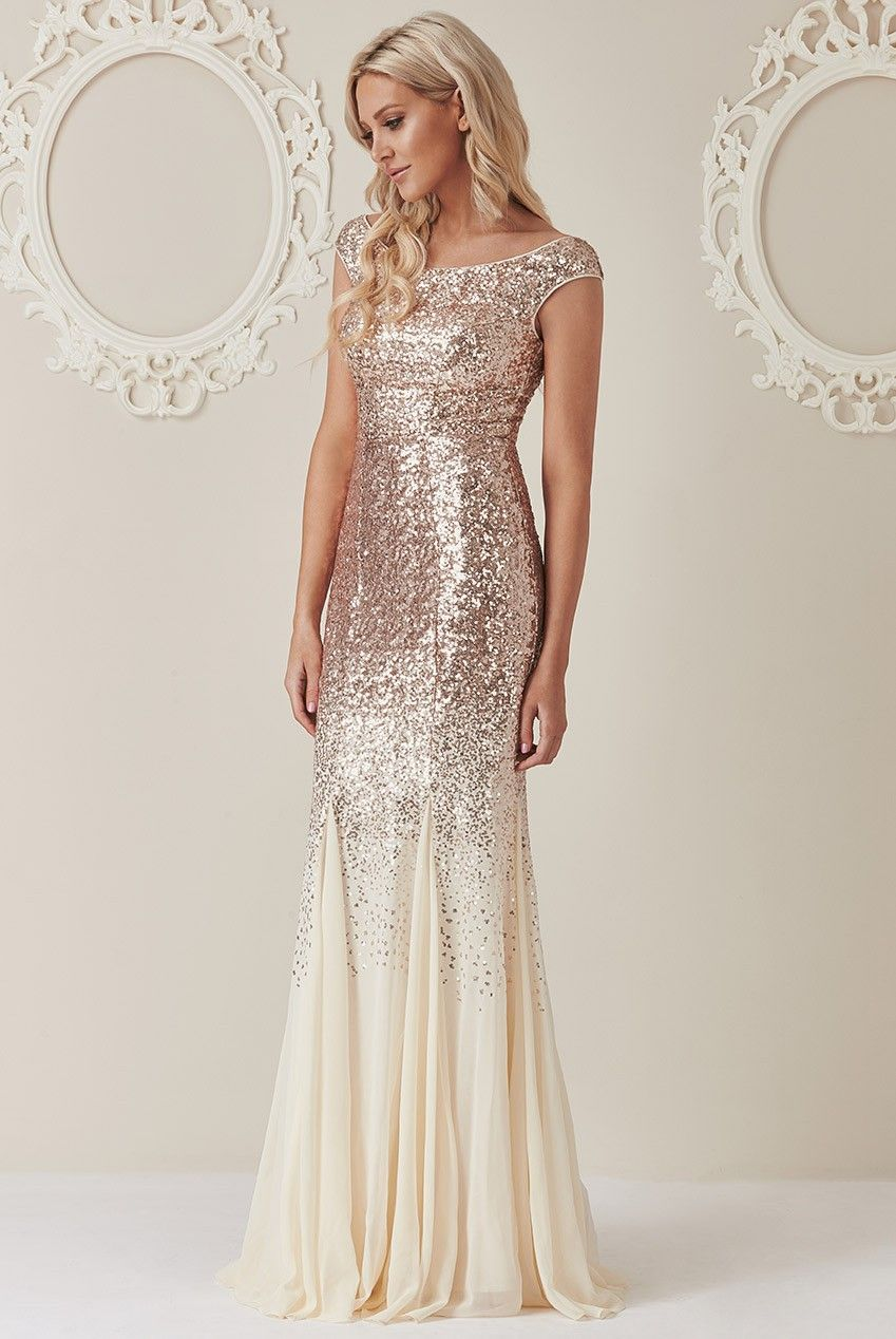 46++ Champagne glitter maxi dress ideas