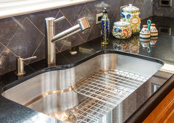 franke sink classic white kitchen