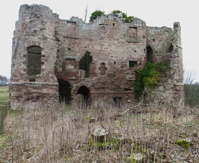 Twizel Castle by Lisa Jarvis - 3 km from Upsettlington, Scottish Borders, Great Britain