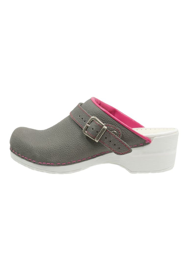 grises mujer Zapatos Edna para Sanita xZqqUSI