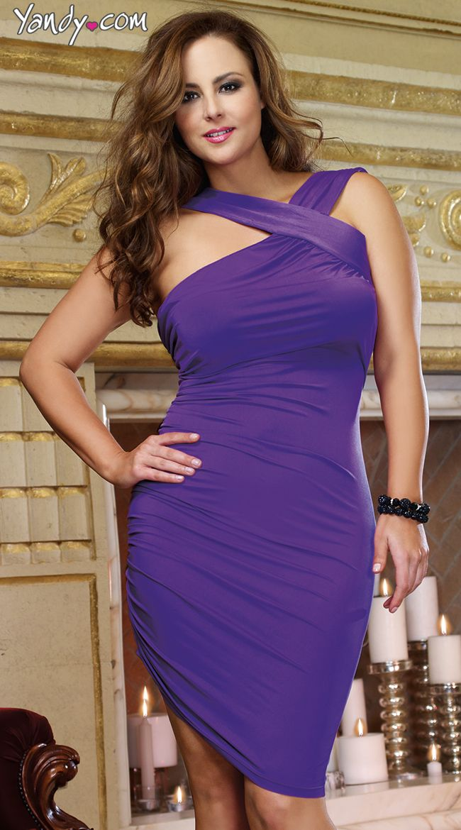 plus size hypnotic club dress, full figured sexy club dress