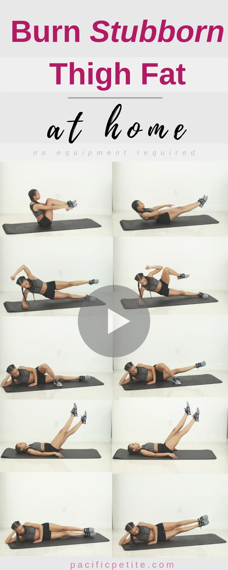 Photo of Bestes inneres Training zu Hause, kein Fitnessstudio, nicht mit Gewichten. Killer Thights Workout für Frauen schnell