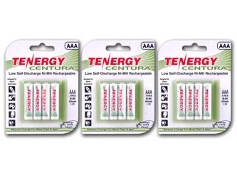 3 Cards Tenergy Centura Nimh Aaa 800mah Low Self Discharge Rechargeable Batteries Rechargeable Batteries Nimh Alkaline Battery