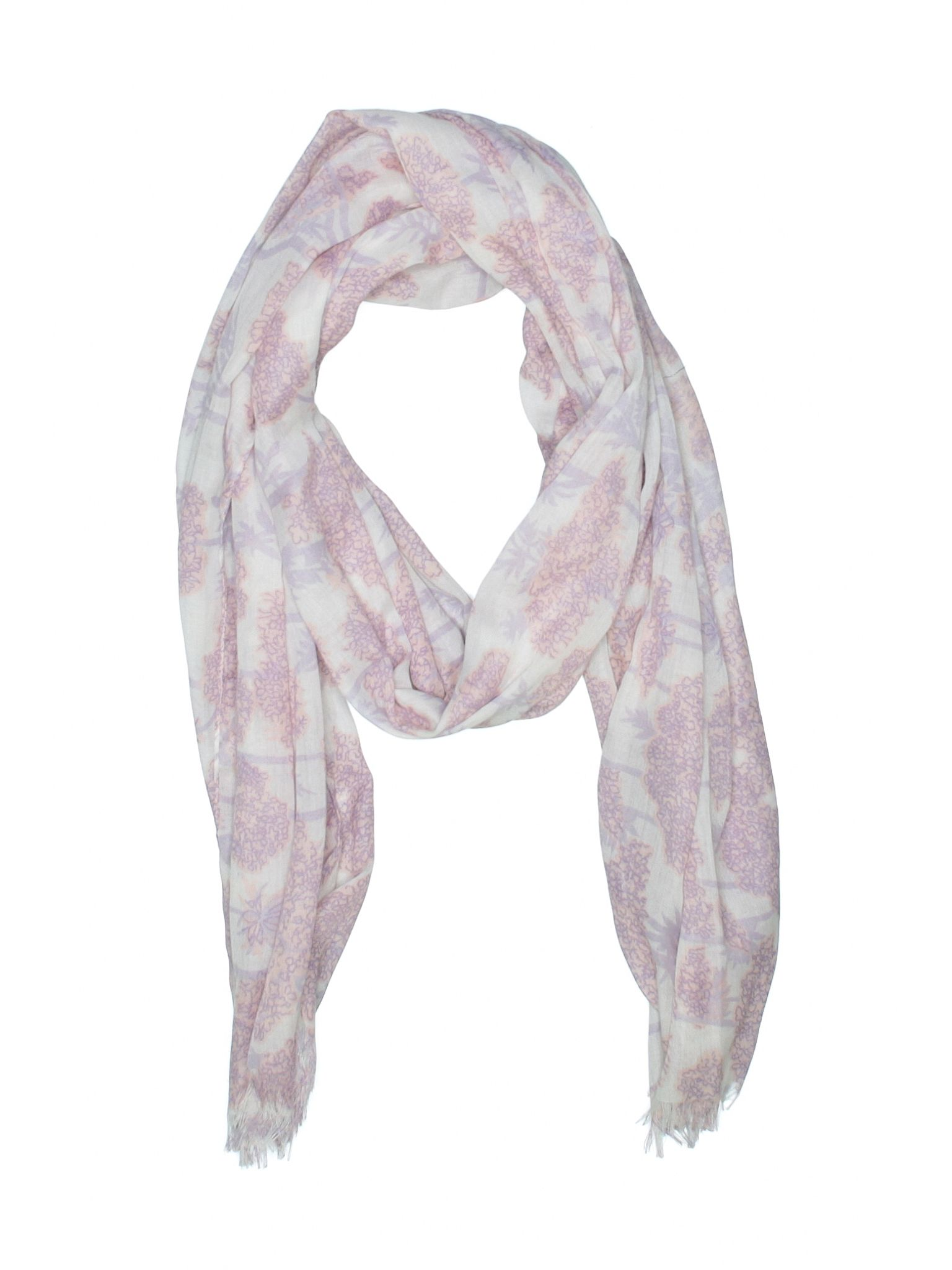 Unbranded Accessories Scarf: Size 0.00 Light Purple Womenu0027s Accessories    $0.99