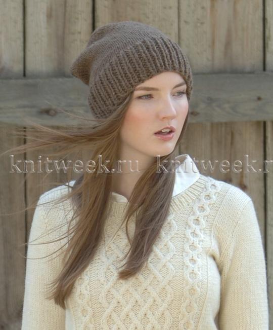 шапка чулочной вязкой и резинкой шапки вязание вязаные шапочки