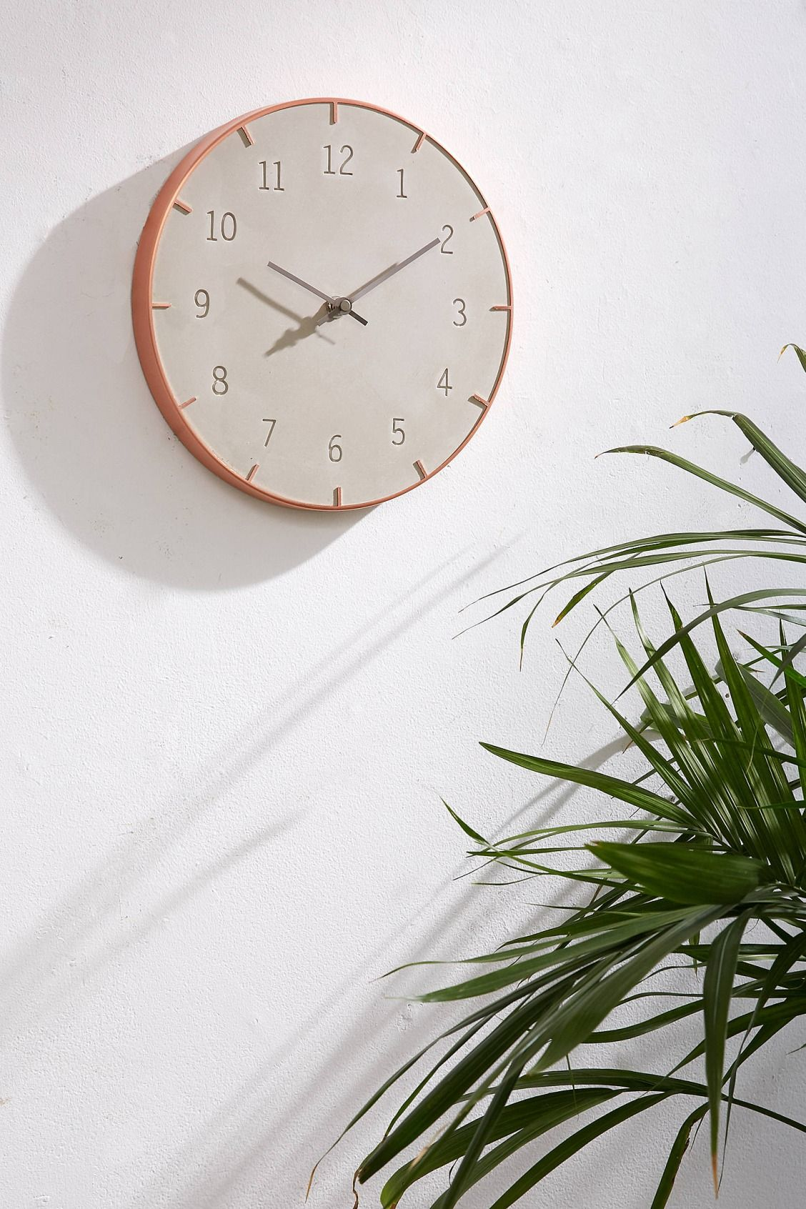 Am americana country wall clocks - Abbi Concrete Wall Clock