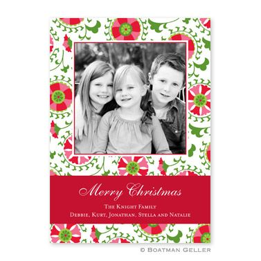 Suzani holiday by boatman geller · holiday cards