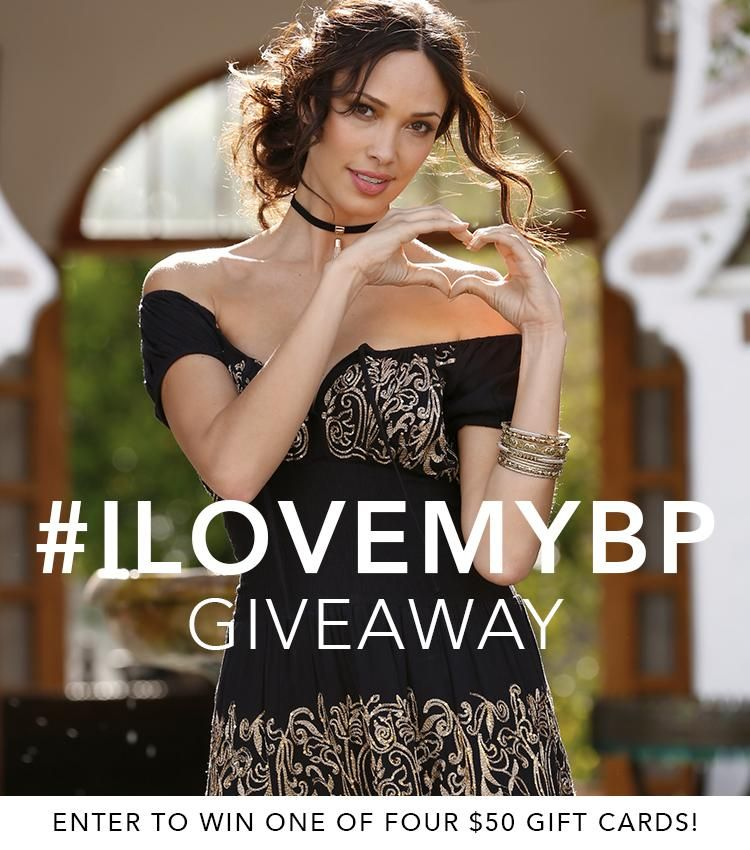 Want to win a fast $50? Enter our #ILoveMyBP giveaway for 4 chances to win $50! Click here for details.