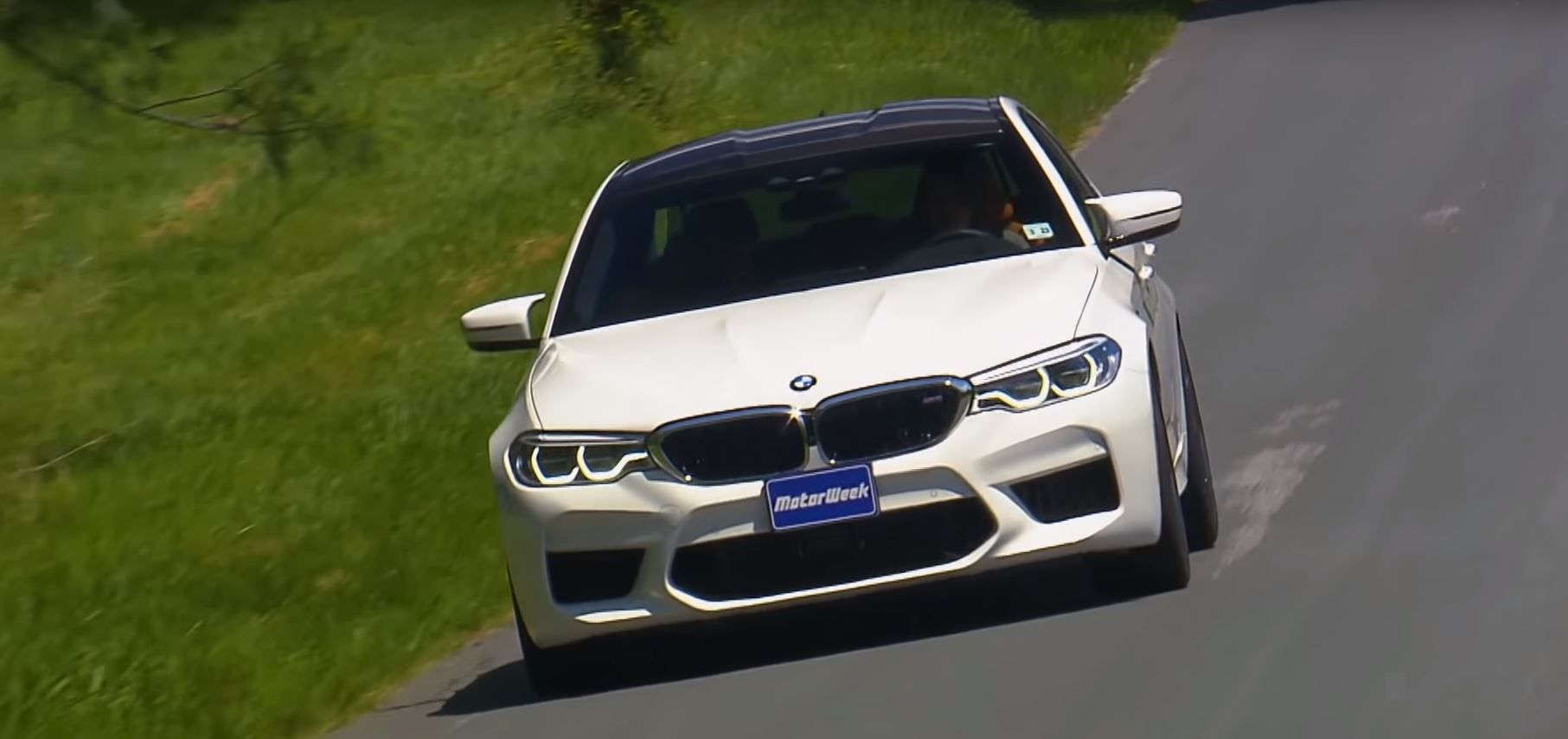 Video Motorweek Tests The New Bmw M5 On The Road And Track Bmw