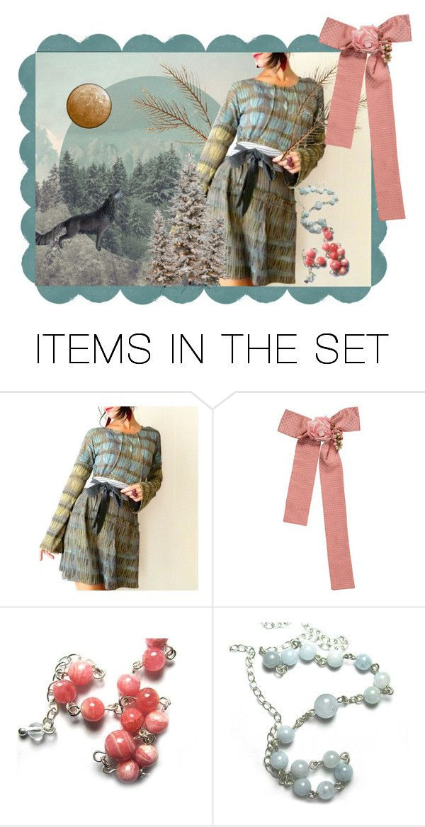 """""""postcard from afar"""" by iheartfink ❤ liked on Polyvore featuring art"""