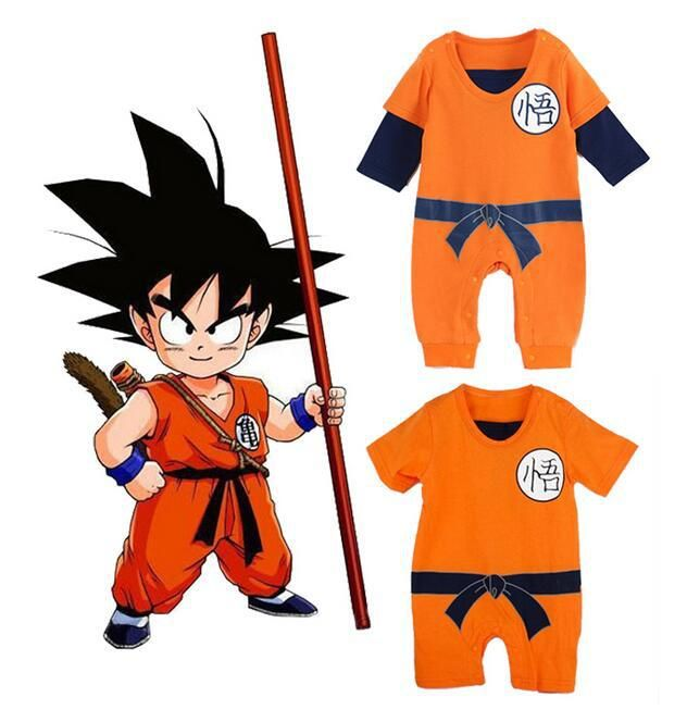 cd079f61133ae Dragon Ball Baby Rompers Newborn Baby Boys Clothes SON GOKU Toddler ...