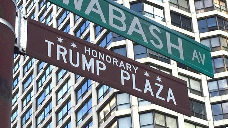 Last Remaining Trump Street Signs Removed