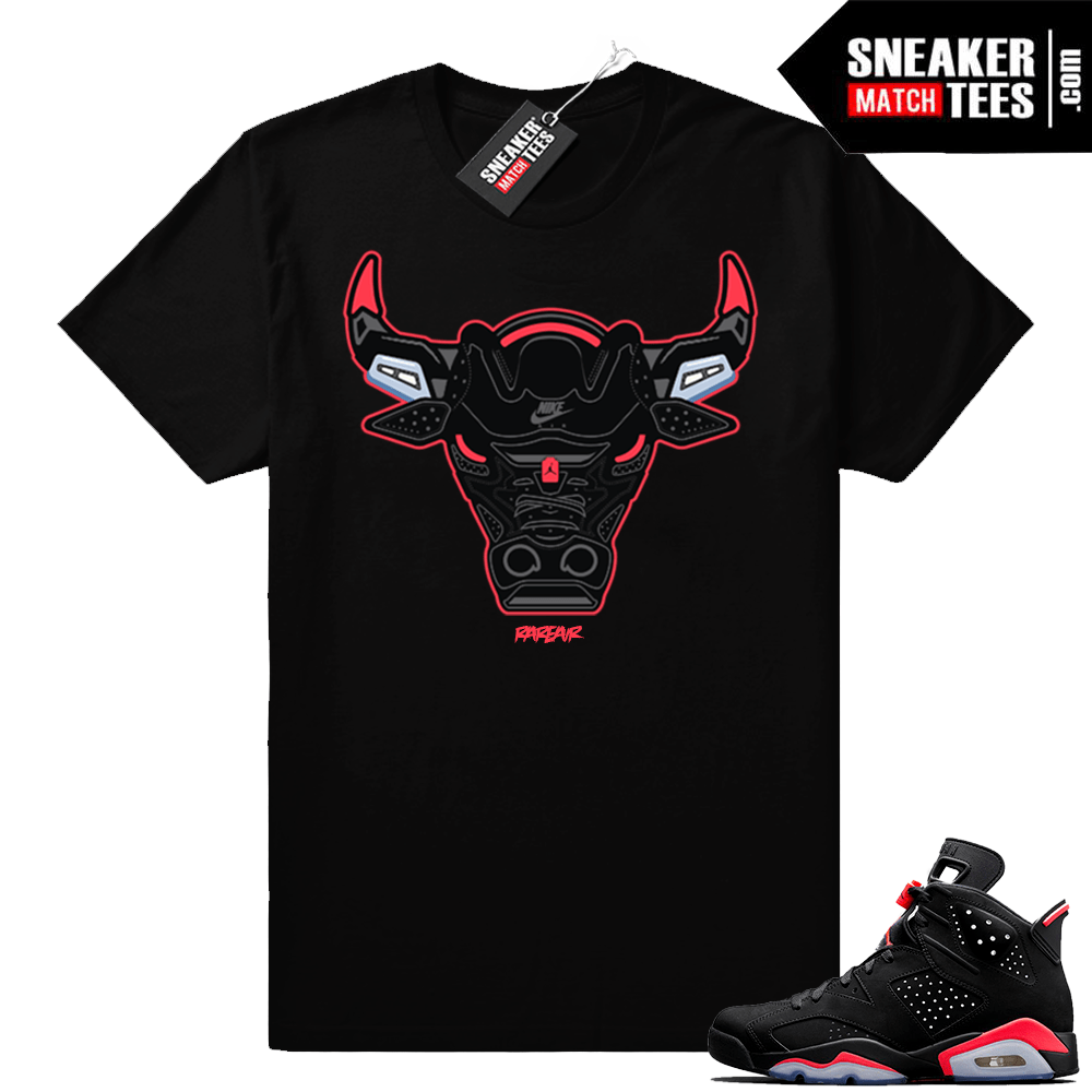 90a1bf06f21719 Infrared 6s Sneaker tees to match Jordan Retro 6 shoes in 2019 ...