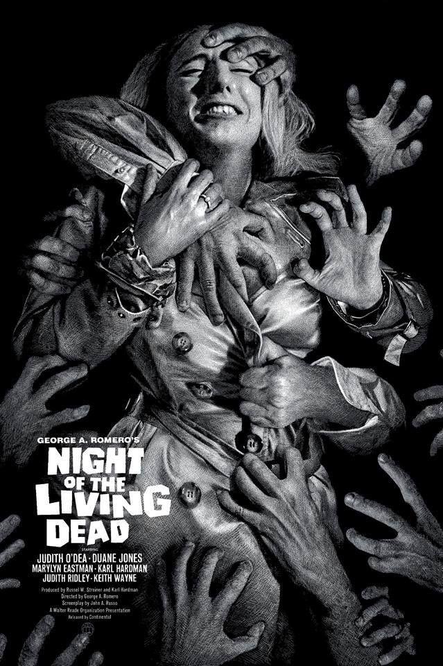 Night Of The Living Dead 1968 639 X 960 Cartazes De Filmes