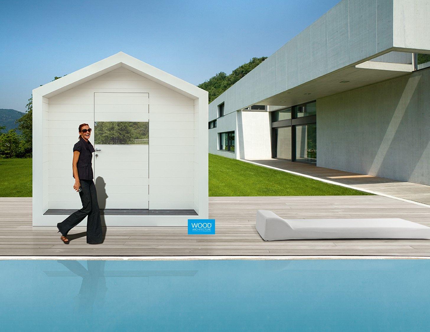 Colori Tetti Legno Lamellare minimalhouse con tetto a due falde con trattamento di