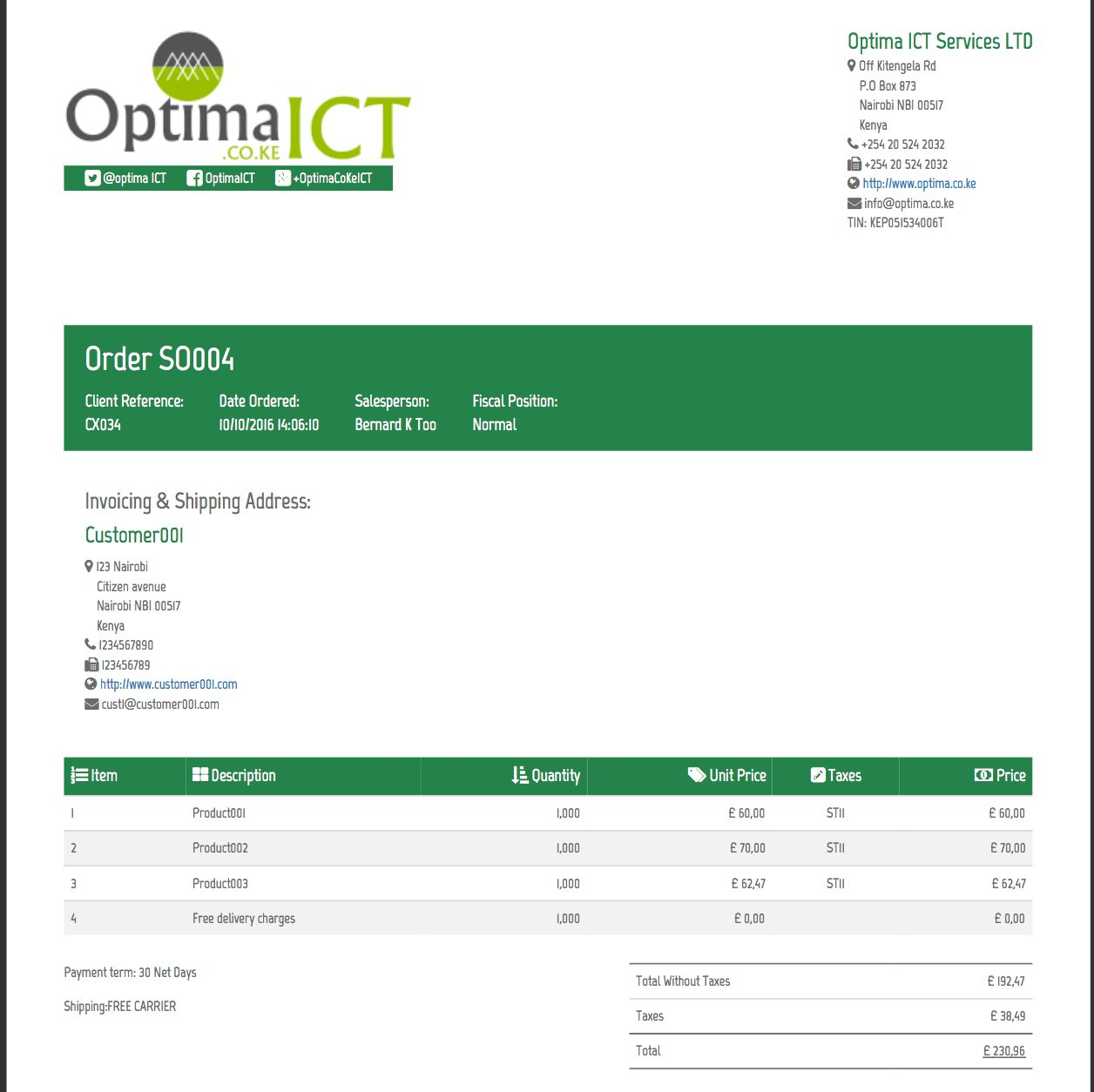 Professional Report Templates Odoo Apps In Section 37 Report Template Business Template Ideas In 2020 Business Template Professional Templates Best Templates