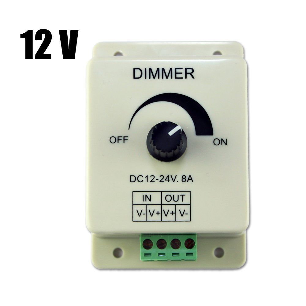 2 73 Dc 12v 8a Light Dimmer Brightness Control For Single Color Led Strip S7m7 Ebay Home Garden Light Dimmer Switch Dim Lighting Strip Lighting