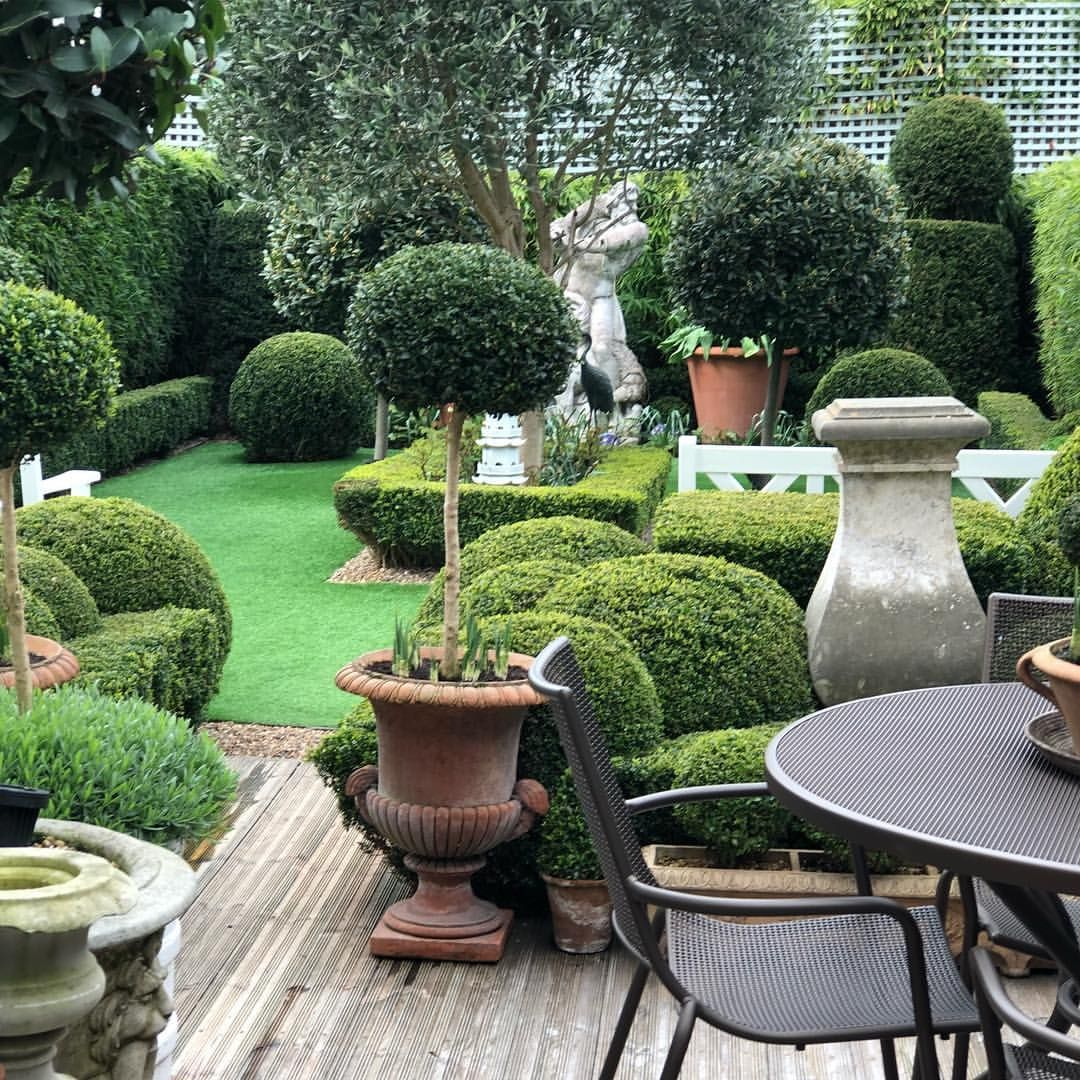 My piece of the world 🌳🌞 . . . . topiary garden