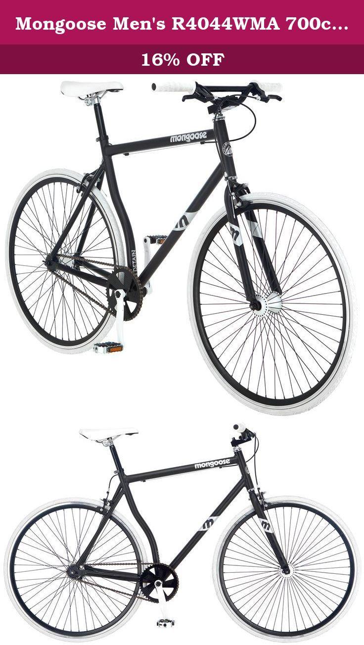 Mongoose Men S R4044wma 700c Detain Fixie Bike Matte Black The