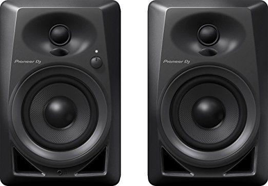 Pioneer DJ DM-40 PAIR Desktop Monitors Bring Excellent Audio