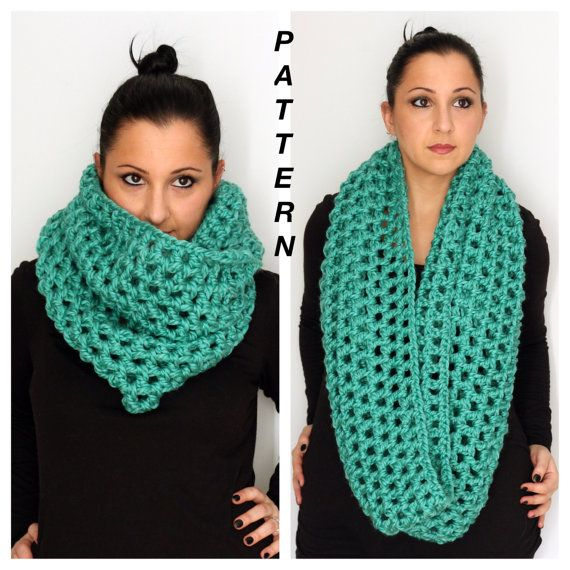Bella Crochet Cowl Pattern Super Easy And Quick Oversized Cowl
