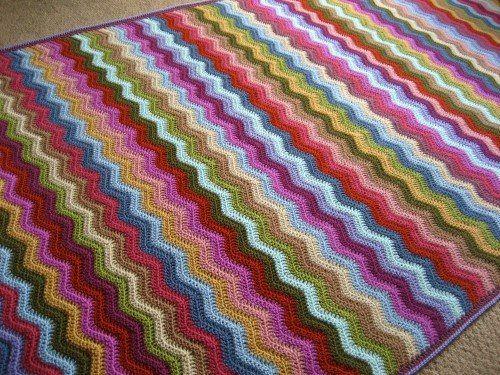 Attic24 Facebook Crochet Ripple Blanket Crochet For Beginners Blanket Crochet Ripple