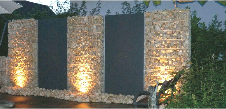Zaun Team Zaune Zaun Zaunbeleuchtung Gabions In 2020 Zaun Beleuchtung Zaun Garten Sichtschutz Garten Zaun