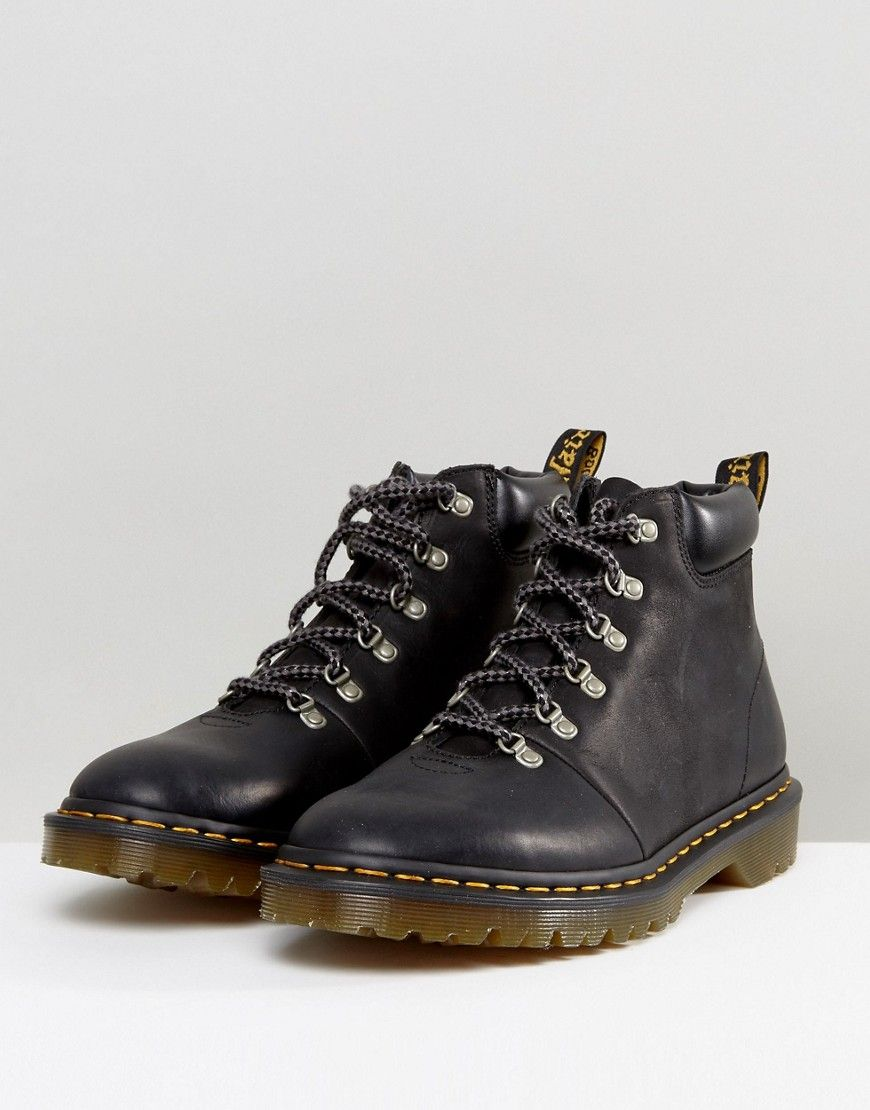 f26fd10a29e Dr Martens Elmer Hiking Boots - Black | Usable style in 2019 ...