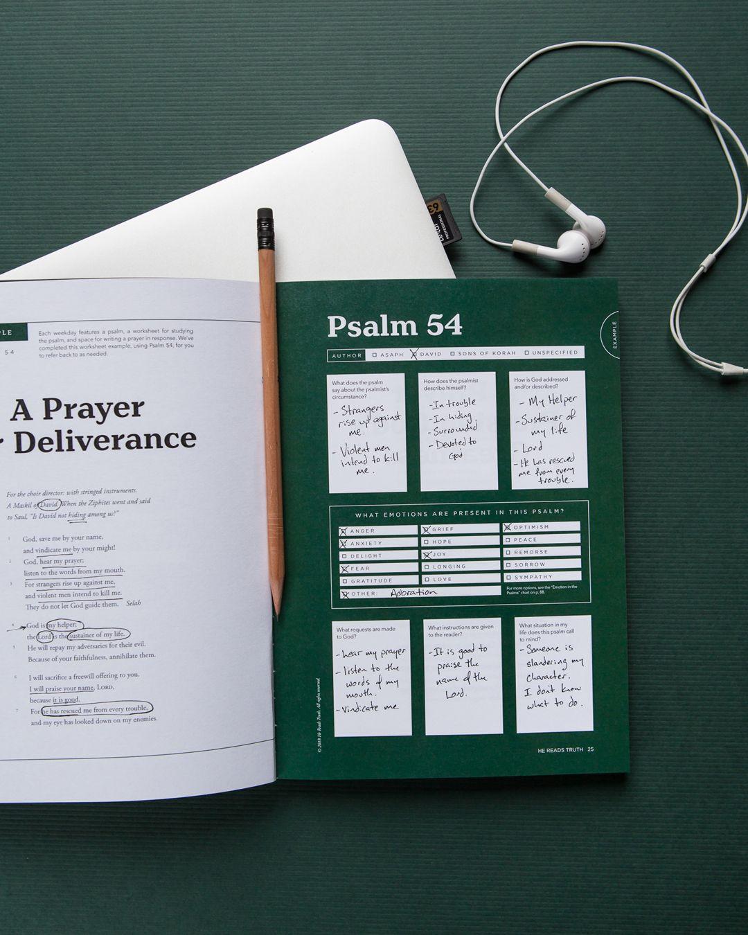 Psalms For Prayer Legacy Book