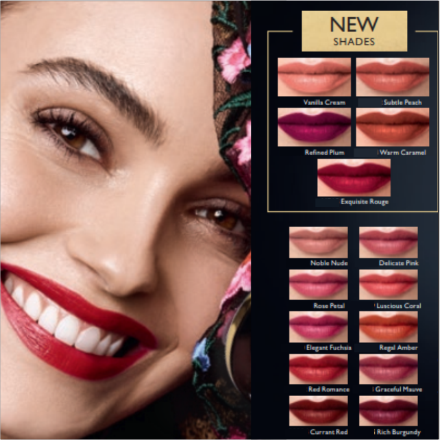 Check out the new shades of our Master Creation Lipstick