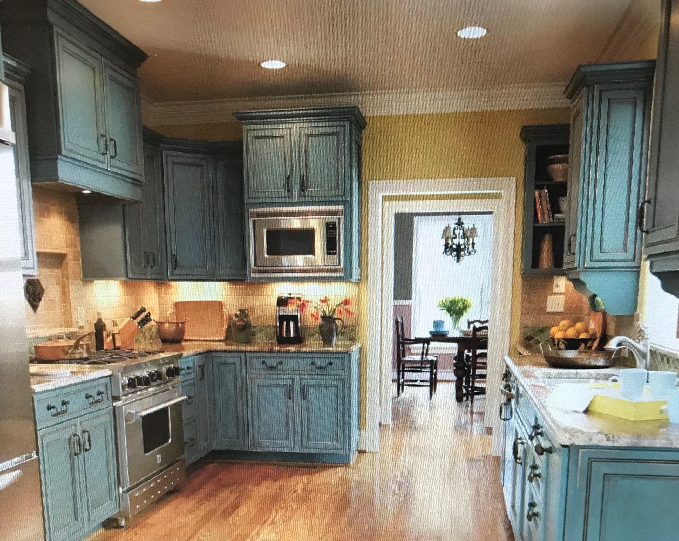 Pin By M Downing On In The Kitchen Distressed Kitchen Distressed Kitchen Cabinets Kitchen Cabinets For Sale