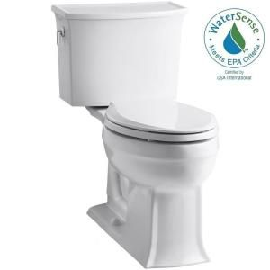 Kohler Archer Comfort Height 2 Piece 1 28 Gpf Single Flush
