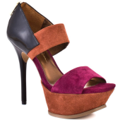 Color Blocking in Suede by Jessica Simpson